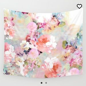 Society6 Love of a Flower Tapestry